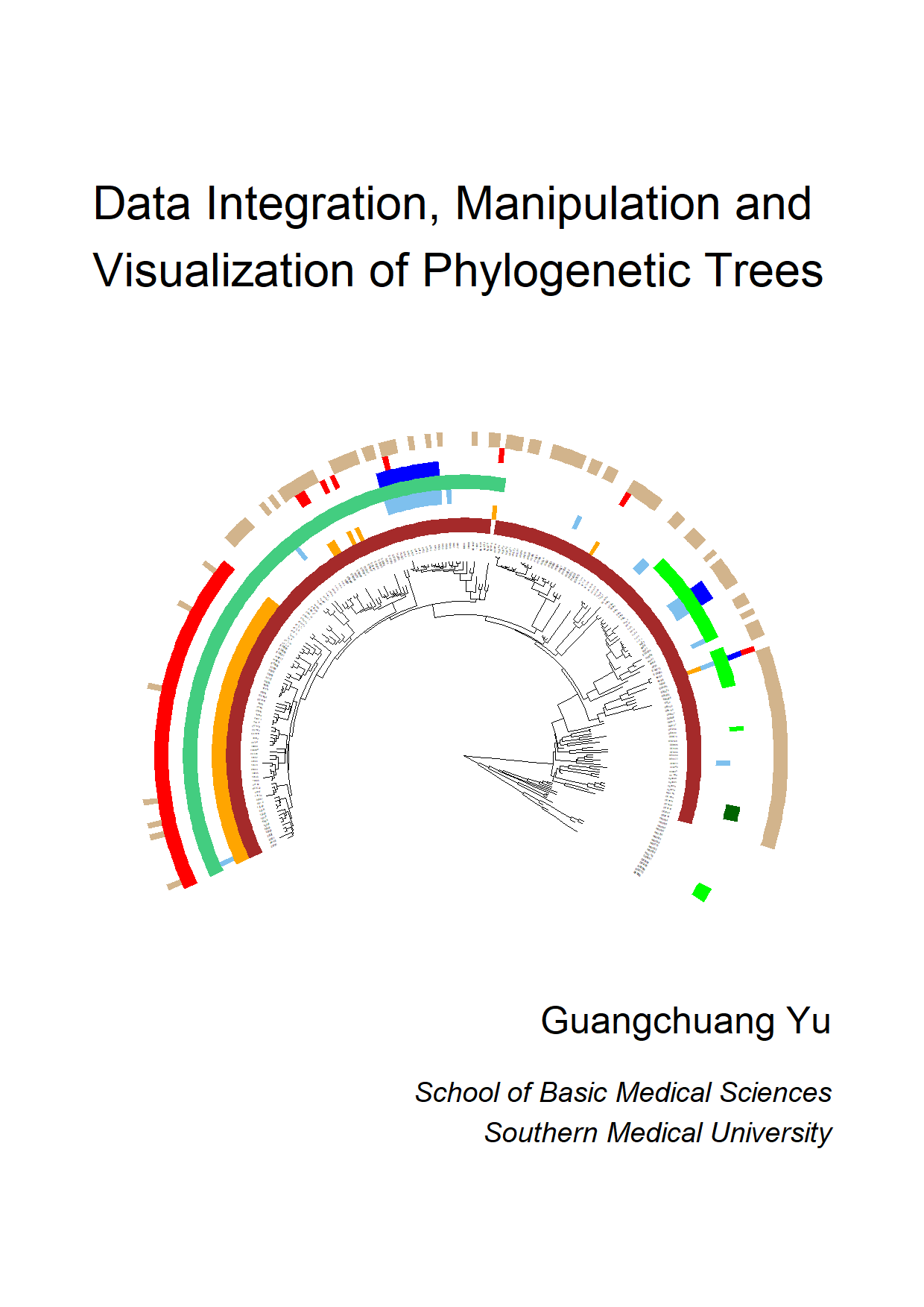 Data Integration, Manipulation and Visualization of Phylogenetic Trees